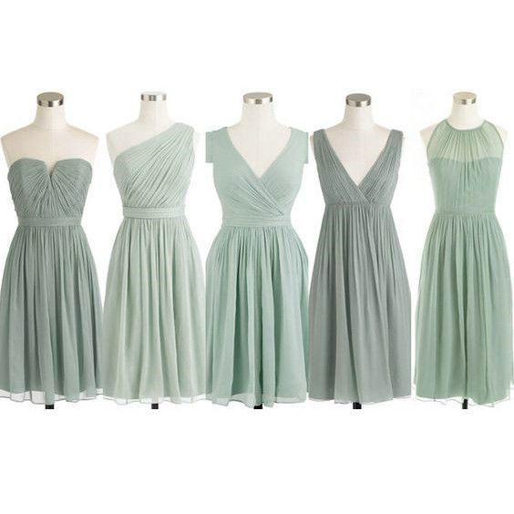 Chiffon Short Bridesmaid Dresses Pst403 on Luulla