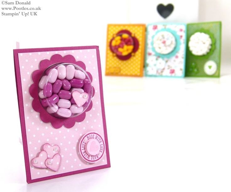 Tic Tac Sweetie Treat Cup Favours by Stampin' Up! UK ...