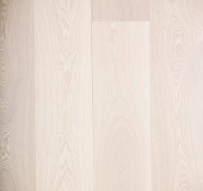 Parkett :: 1-stav Ask Naturale, hvitmattlakket Gulvnett.no (399,- per m2!)