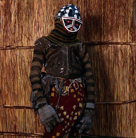 Likishi (or Makishi) Masquerade, Zambia (1st 4 photos by Phyllis Galembo, 2007) - Dondo (A Fool)