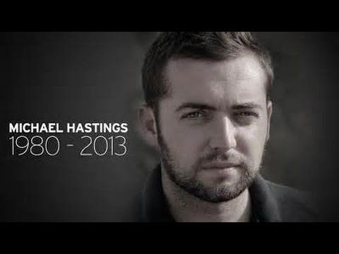 """Michael Hastings """"Crash"""" Investigation: Police and Fire Department Ordered To Keep Quiet.  Another victim of the war on freedom. He apparently had """"THE"""" story & was on his way to the Canadian embassy when his car blew up and then hit a tree. Assassination appears to be a common way to get rid of whistle-blowers."""