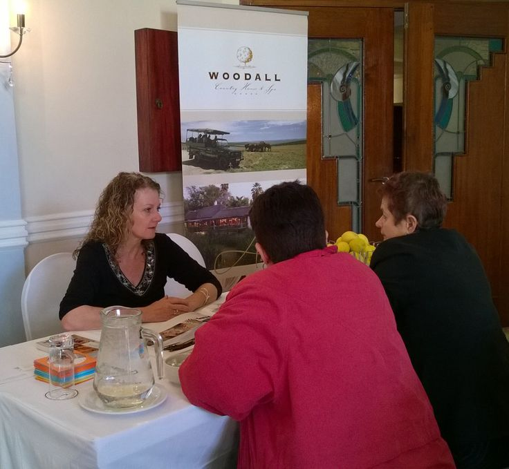 Woodall Country Lodge and Spa Table at the Exclusive Getaways workshop for travel professionals in Port Elizabeth on 28 Aug 2014