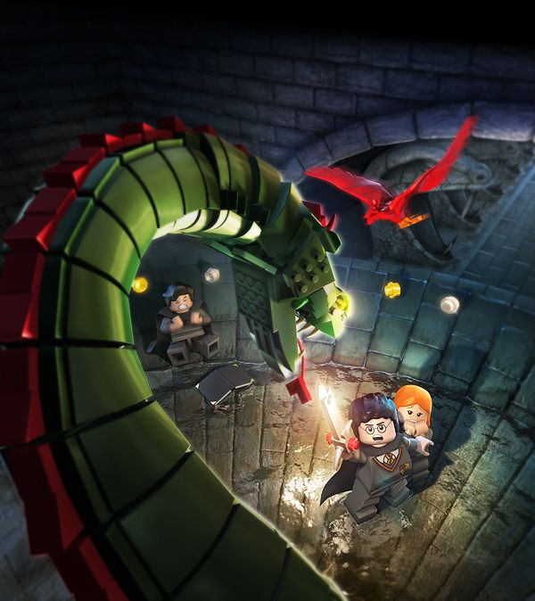 """Love Harry Potter? Can't get enough of LEGOs? For a video game print ad campaign, Albert Co created these amazing Harry Potter images! """"I accompanied the 3"""