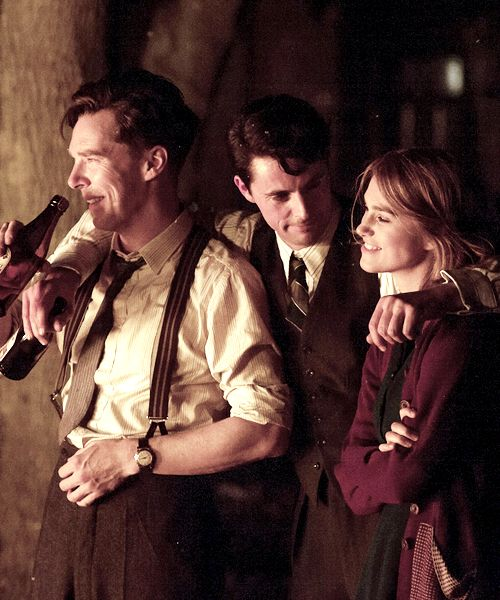 The Imitation Game - Benedict Cumberbatch, Matthew Goode, Keira Knightly