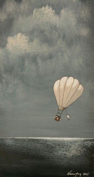 Painting by Karianne Haug