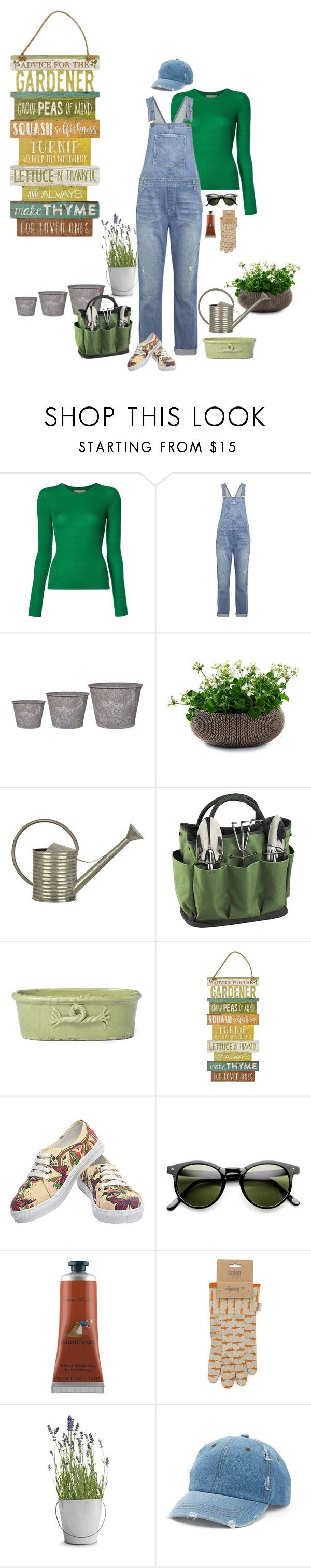 """""""Unbenannt #996"""" by lila77 ❤ liked on Polyvore featuring Michael Kors, Current/Elliott, Garden Trading, Keter, Picnic at Ascot, Crabtree & Evelyn, Scion, Potting Shed Creations and Mudd"""