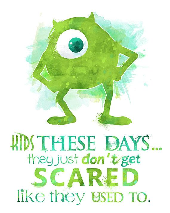 Mike Wazowski Monsters Inc. 8x10 Poster by LittoBittoEverything