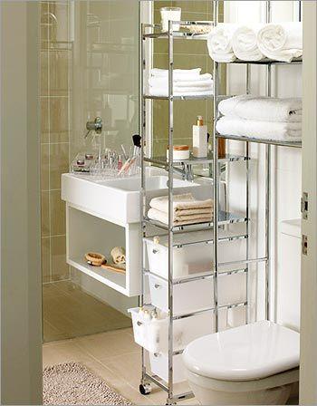 Make use of those small spaces JustBathroomFurniture.com