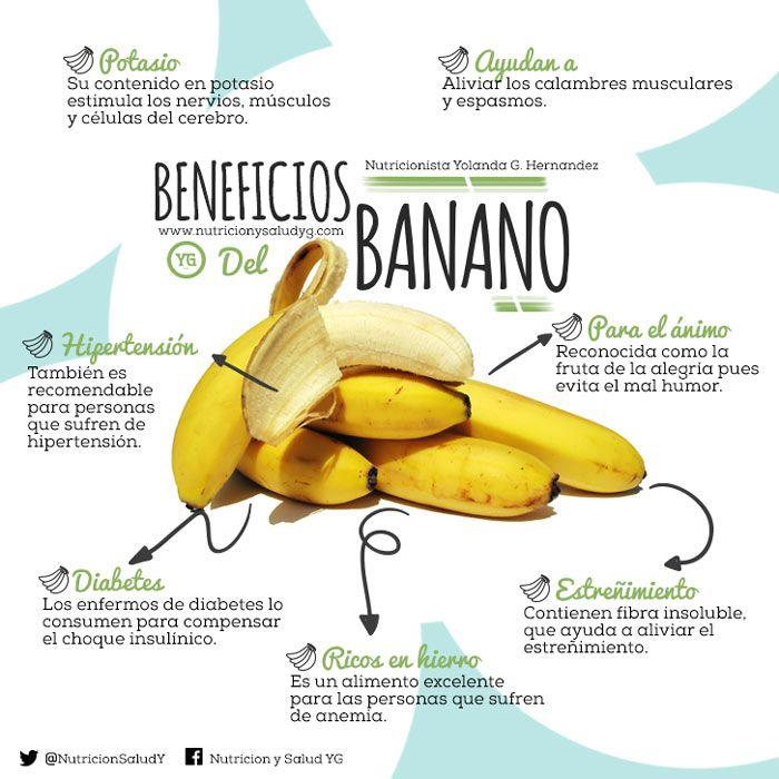 Los mejores beneficios del banano