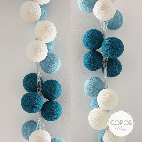 32 best images about guirnaldas copos de luz on pinterest - Bolas de decoracion ...