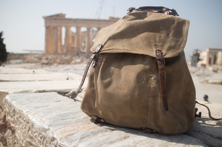 M39 Rucksack at the Parthenon, Acropolis, Athens, Greece by SwedichRucksack.com