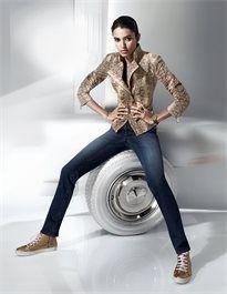 Damen Velourslederjacke aus Ziegenvelours mit Schlangenprint