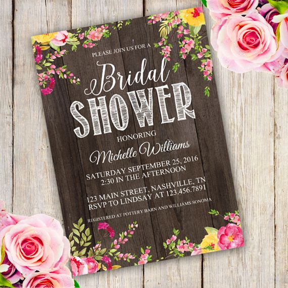 23 best Bridal shower invitations templates images on Pinterest - invitation template bridal shower