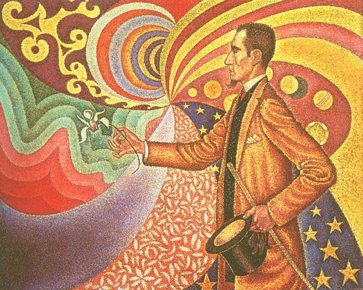 Pointilistic painting.1890, Modern Art, The Artists, Félix Fénéon, Backgrounds, Doces Paul, Felix Feneon, Portraits, Paul Signac