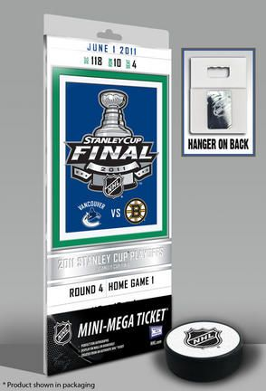 Vancouver Canucks 2011 Stanley Cup Commemorative Mini-Mega Ticket: Officially licensed by… #SportingGoods #SportsJerseys #SportsEquipment