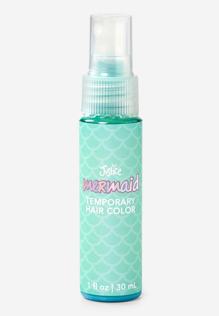 Mermaid Temporary Hair Color Spray