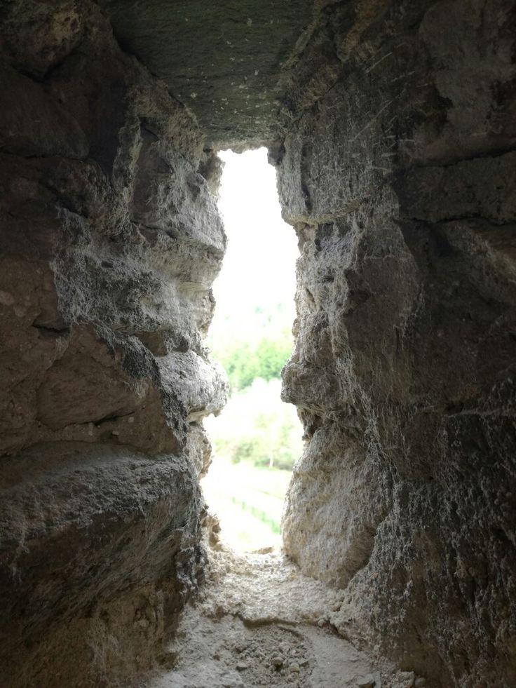 "The ""window"" of Mălăieşti Citadel"