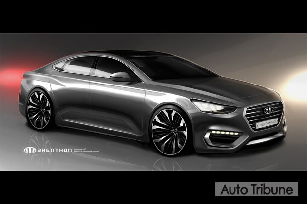 2017 #Hyundai #Azera (2017 Hyundai #Grandeur) to get younger & bolder looks