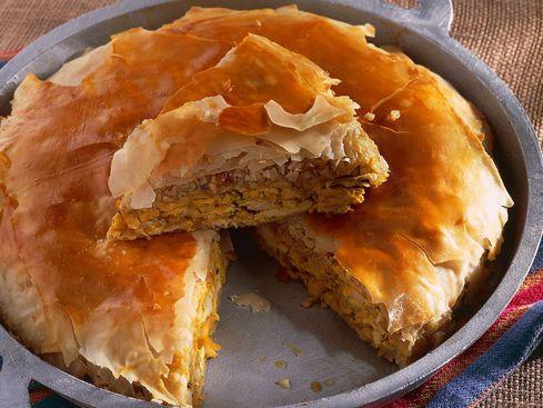 Pastilla de poulet aux amandes et cannelle