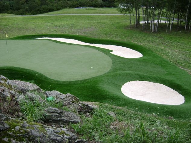 70 best Golf Course Design images on Pinterest | Backyard ideas ...