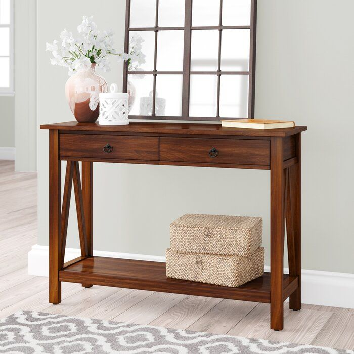 Soule 42 Solid Wood Console Table Muebles Recibidor