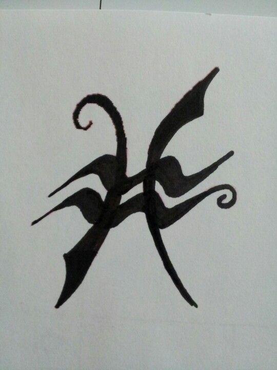Aquarius + Pisces symbols tattoo idea | Tattoos: Love ...