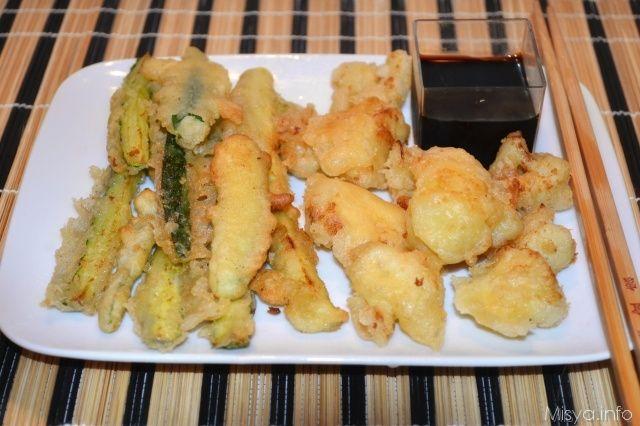 Tempura di verdure, scopri la ricetta: http://www.misya.info/2014/01/19/tempura-di-verdure.htm