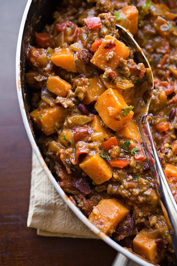 neil lane engagement rings Cheesy Sweet Potato Skillet Chili   33 Of The Most Delicious Things You Can Do To Sweet Potatoes