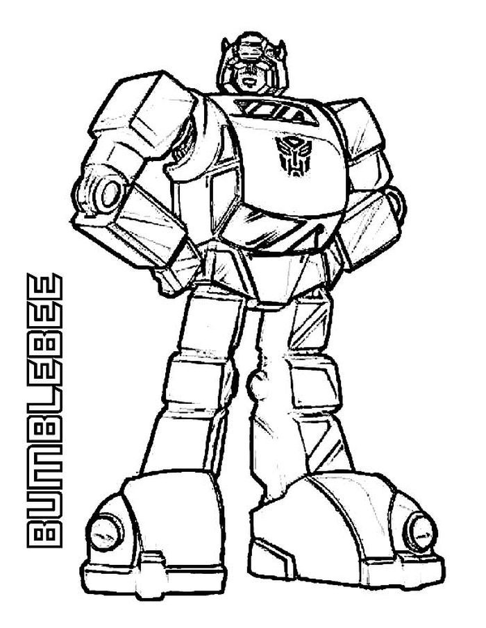 Transformers 4 Coloring Pages Bumblebee In 2020 Transformers Coloring Pages Bee Coloring Pages Coloring Pages Inspirational