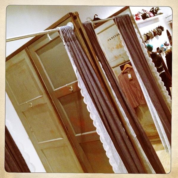 Changerooms - Reclaimed Highschool Doors