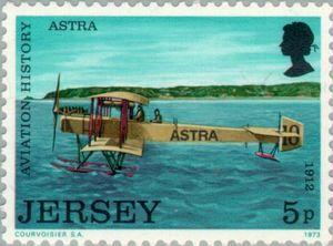 Sello: Airplanes (Jersey) (Airplanes) Mi:JE 82,Sn:JE 82,Yt:JE 76,AFA:JE 76