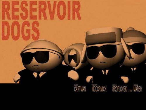 #SouthPark The gang gets to 'work' in 'Reservoir Dogs': Reservoir Park, Dtr South, Download South, South Park, Southpark Reservoir Dogs Jpg, Parks, Beers South, Dual Tastic South