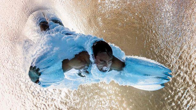 Le plongeon à 10m comme vous ne l'avez jamais vu