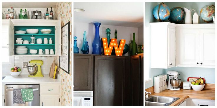 15+Smart+Solutions+for+That+Awkward+Space+Above+Your+Cabinets  - CountryLiving.com