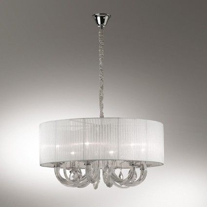 Lustra SWAN SP6 35826, IDEAL LUX, 40w, becuri incluse, E14, import Italia