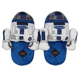Star Wars R2D2 Mens Slipper