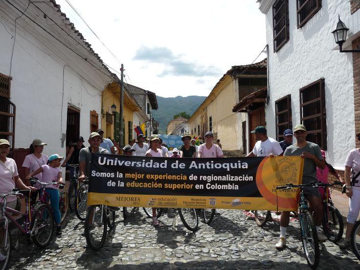 Participación en Ciclo Ruta - 20 de Julio - Seccional Occidente - 2012