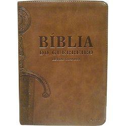 Livro - Bíblia do Guerreiro: Letras Grandes (Marrom)