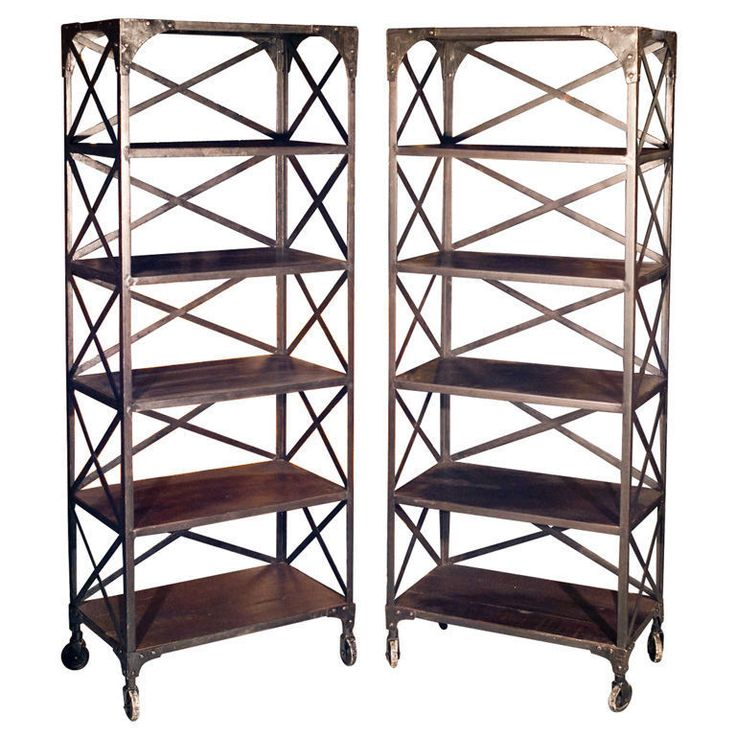 art deco furniture north london. pair of industrial cross back bookcase cabinets 101-2709 #industrial · art deco furniturefurniture storagemodern furniture north london d