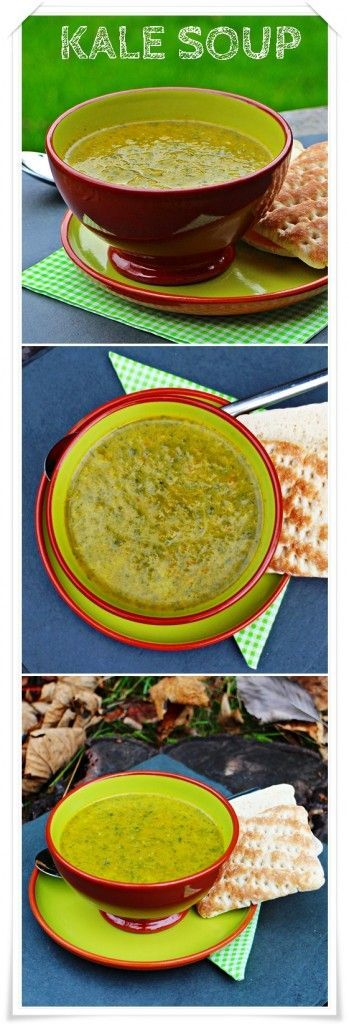 Kale Soup, low fat, vegan, nutritious and delicious! Fab Food 4 All