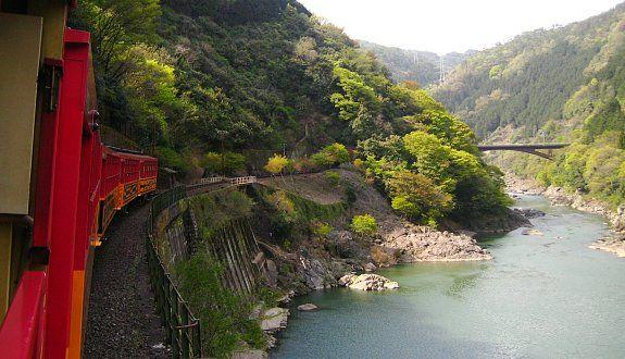 Kyoto Travel: Sagano Scenic Railway (Sagano Torokko or Sagano Romantic Train)