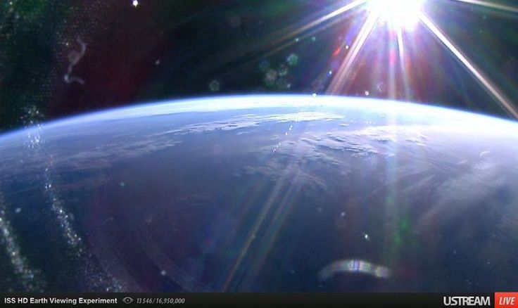 view from space station live - photo #5