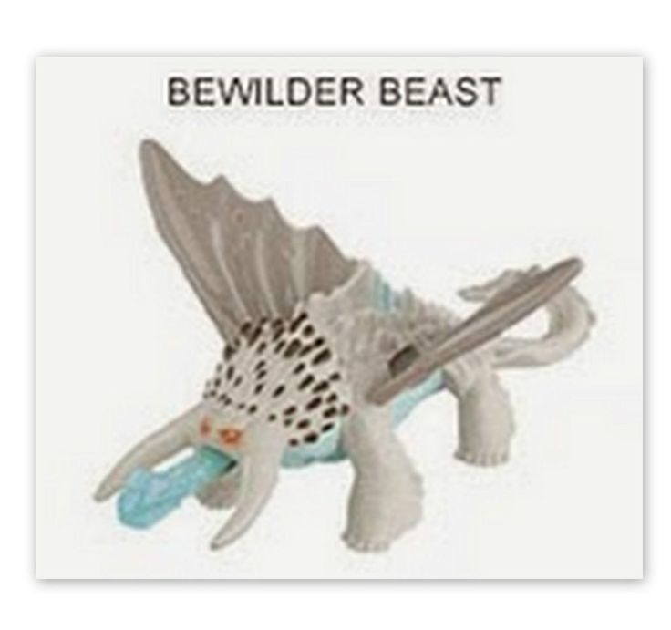 How To Train Your Dragon - Bewilder Beast - Toy Figure - Dreamworks Cake Topper
