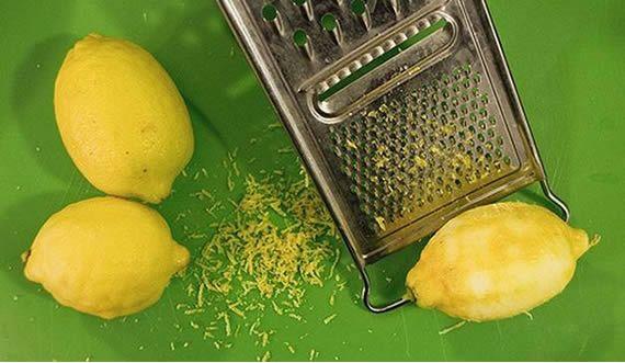 6 modi per utilizzare buccia di limone