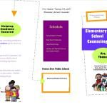 Free Elementary Counseling Brochure