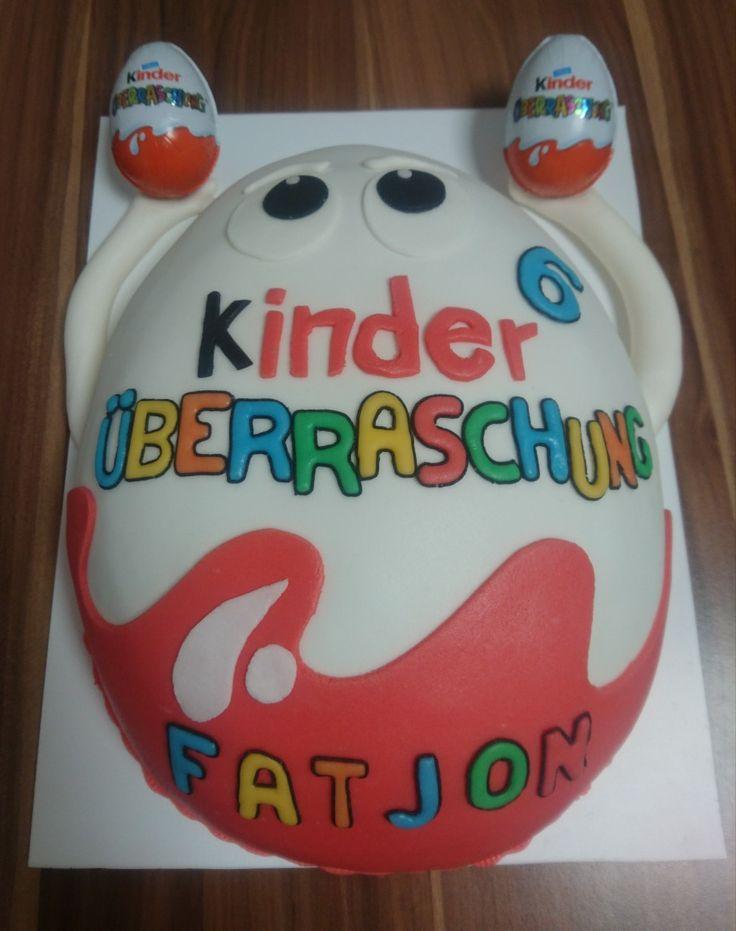 Kinder Ueberraschung Torte