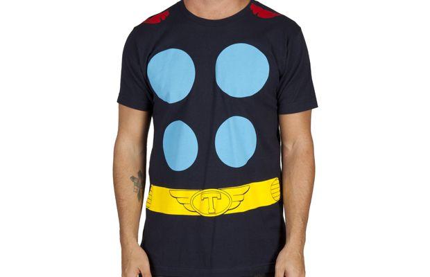 Thor Costume T-Shirt Get yours here: http://tshirtonomy.com/go/thor-costume