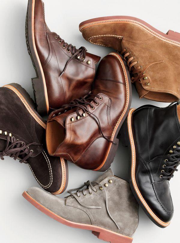 J.Crew men's Kenton boots.