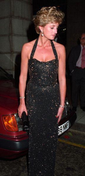 LondonEngland June 21 1994 Princess Diana leaving the Ritz