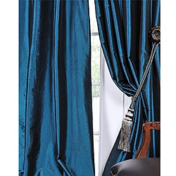 @Overstock - Defined by a unique sheen and fine weave, this exclusive faux silk taffeta curtain panel showcases a gorgeous, timeless design. This window panel has a crisp, smooth finish in a brilliant shimmering color.  http://www.overstock.com/Home-Garden/Solid-Faux-Silk-Taffeta-Mediterranean-120-inch-Curtain-Panel/5624138/product.html?CID=214117 $83.99